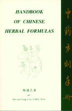 Handbook of Chinese Formulas